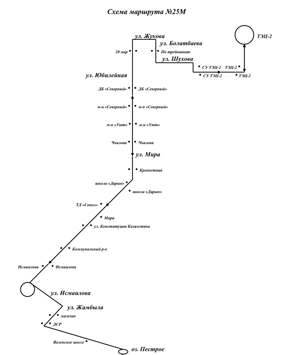 схема движения 25 маршрутки в ростове