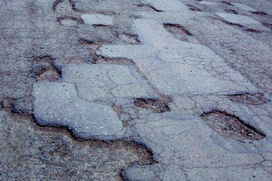 Технология ямочного ремонта дорог на грани фантастики